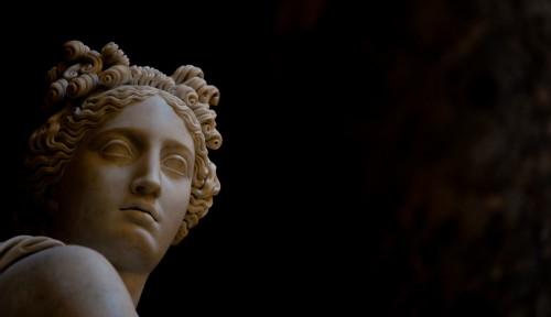 Statue de Clio, au Capitole (Washington)